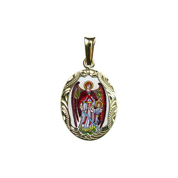 106R Archangel Rafael Medallion