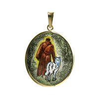 Heiligen Franziskus von Assisi Größte Anhänger