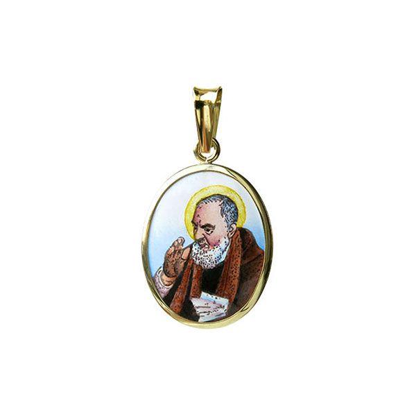 142H Padre Pio Medal