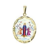 Mariä Aufnahme in den Himmel Medaillon