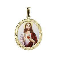 Heiligstes Herz Jesu größte Medaillon - Malerei
