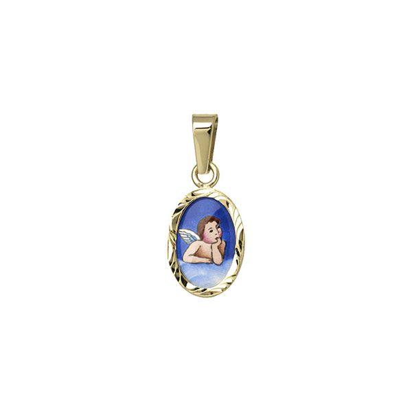 013R Guardian Angel medallion