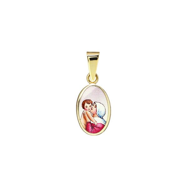 018H Madonna with Child medal
