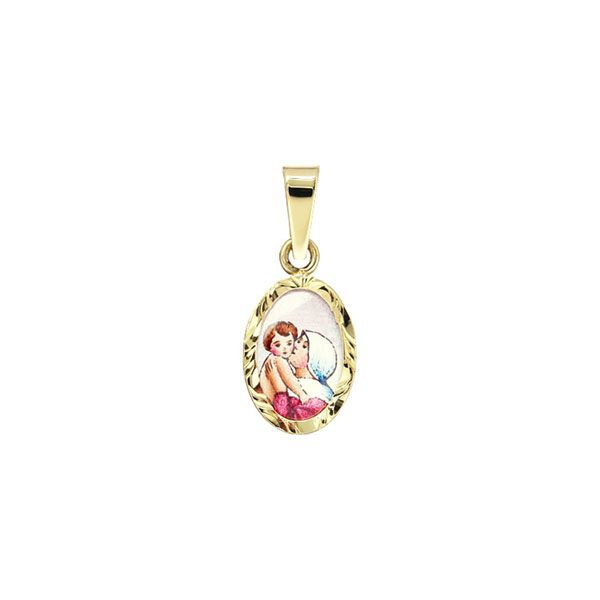 018R Madonna with Child medal