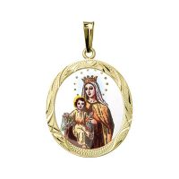 Our Lady of Mount Carmel Medallion