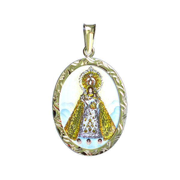 202R Our Lady of Manaoag medallion