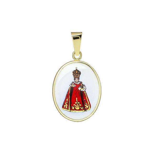 185H Holy Child of Prague Medal
