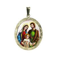 Heilige Familie Größte Medaillon