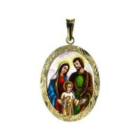 201R Holy Family Medallion