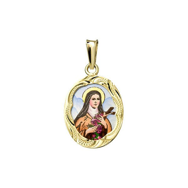 132R Saint Therese Medal
