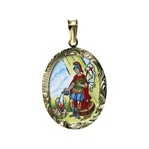 208R Saint Florian Medallion