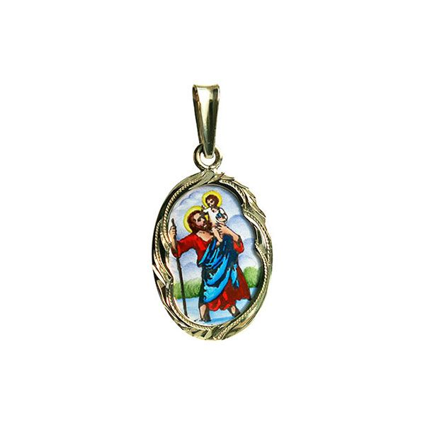 436R Saint Christopher Medallion