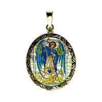 304-305R Archangels medallion side A Michael