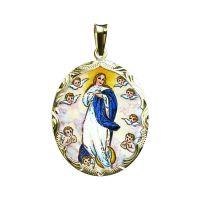 324R Assumption of Maria Pendant